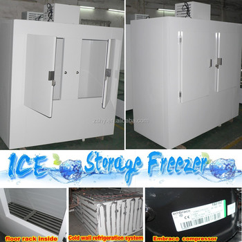 Ice storage freezer of 180 cuft big capacity