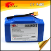 China supplier 48v 20ah LiFePO battery pack for ebike / scooter / bicycle / tricycle / rickshaw / motorcycle