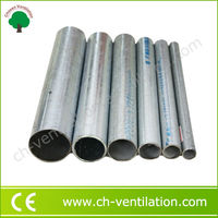 Chosen Professional Greenhouse Project best quality half round pipe