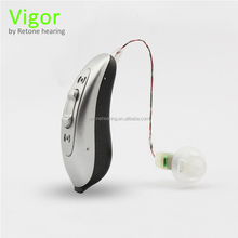 Very fashion design vigor RIC digital hearing aids with high quality