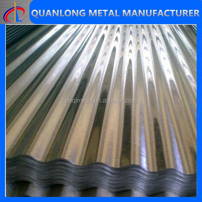 corrugated metal roofing panel