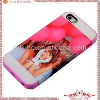 Card insert 3D Sublimation Phone Cases for iPhone 5 / 3D sublimation iPhone 5 cover/blank 3d case for iphone