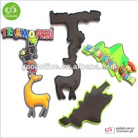 Guangzhou wholesale 3D Fridge magnet promotional custom PVC Fridge magnets