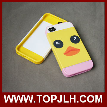 High quality 2 in 1 3D sublimation case for Apple/iphone5 5g 5s phone cover