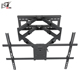 Articulating Large Sliding LCD TV Wall Mount TV Stand With Dual Arms
