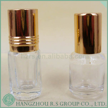 China Suppliers Hot Sale Clear Glass Roll On Glass Bottle,Roll On Bottle