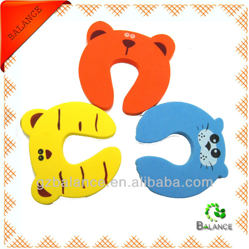 custom cutting safety finger pinch guard with printing