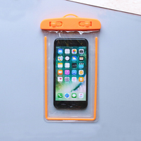 New product strong sealed luminous PVC waterproof cell phone bag