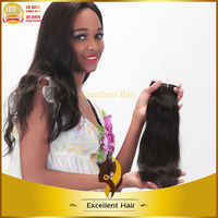 alibaba express hight quality products straight virgin cheap Brazilian hair weave with closure