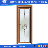 Specifically designed Good service aluminum types of bathroom doors