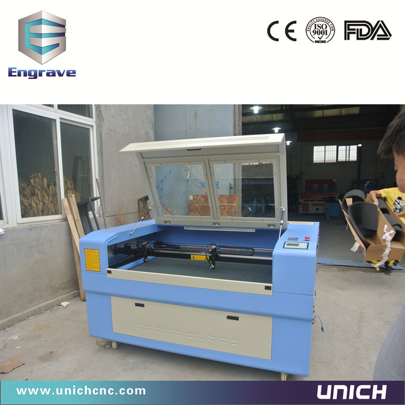 High precision double heads cnc laser machine/co2 laser engraving machine/polystyrene laser cutting machine