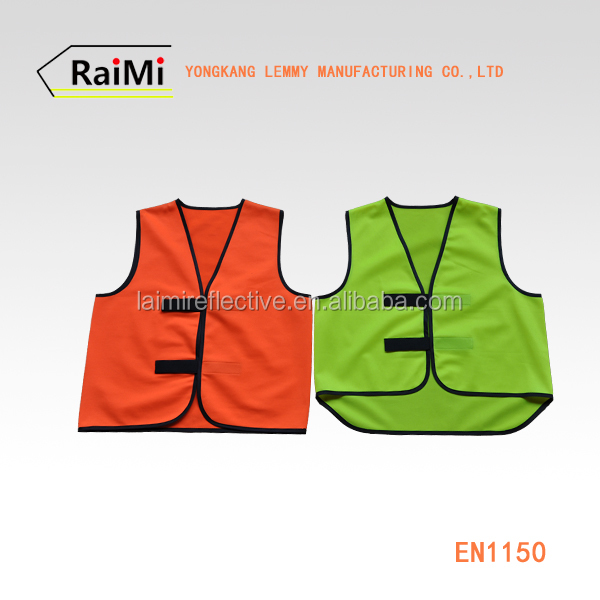 Cheap 100% Polyester High Visibility Yellow / Orange Mesh Road Reflective Safety Vest