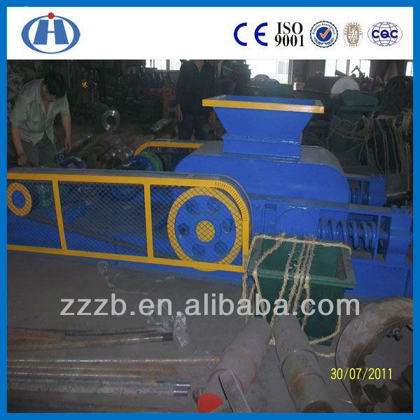 double toothed roll crusher used for crushing medium or lower-hardness mines and rocks
