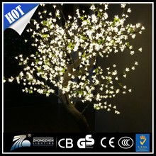 Outdoor led cherry blossom tree light , artificial cherry blossom tree