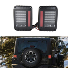 led lights trucks LED Rear Tail Light Brake Turn Signal Reverse Pair J-eep LED Tail Light for 07-16 J-eep Wrangler JK