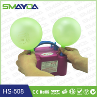 2015 factory supply electric balloon air pump Event & Party Supplies birth day