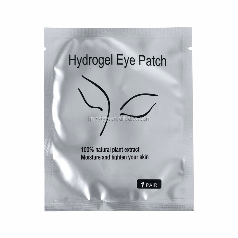 hydrogel lint free eye gel patch for eyelash extensions