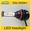 High Power 12V-24V 50w 5000 Lumens Led Headlights Car Led light