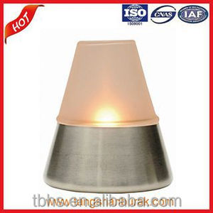 Gia paraffin oil candles table lamp for hotel suppliers