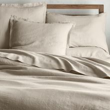 wholesale 100% pure French flax of bed linen bedding set