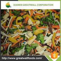 Hot sale Chinese mixed vegetables