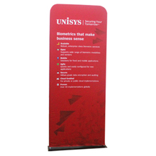 EZ tube banner stand,portable aluminum tube fabric banner stand