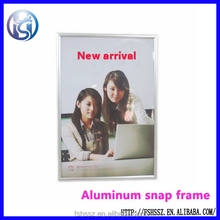 Wall mounting poster board snap frame HS-K23