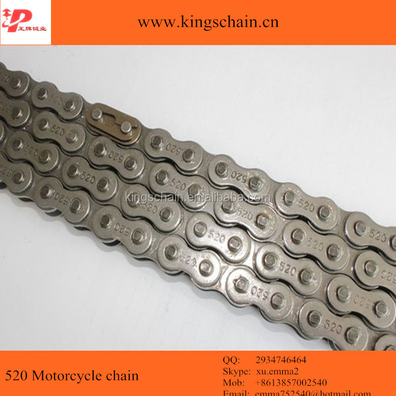 Best quality color <strong>o</strong>-ring motorcycle chain <strong>520</strong>