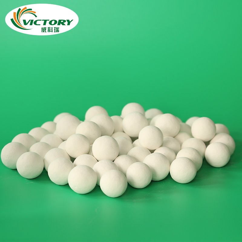 high/low alumina ceramic balls beads for grind polishing refractory materials as carrier