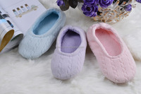 cheap very soft sole warm indoor slipper casual dancing shoes