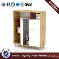Alibaba hot sale office Display Filing Cabinet Wooden Storage File Cabinet( HX-5DE04)