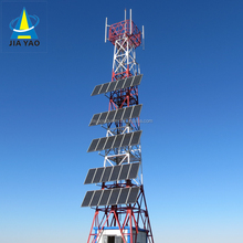 Solar power 3g wireless telecom tower for small companies