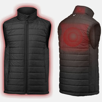 Motorcycle Clothing Lightweight Heated Vest for Men and Women Made in Korea