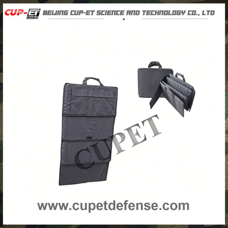 military officer ballistic bulletproof nylon briefcase