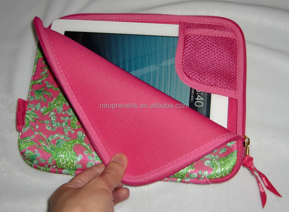Hot Sales Fancy Style Neoprene Tablet PC Protective Sleeve