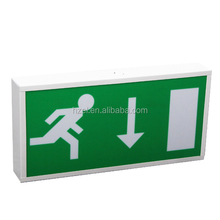 1*8W Fluorescent Rechargeable Emergency Fire Exit Sign