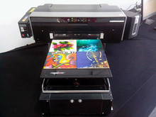 Flat bed Printer For Glass, wood, tiles, PVC etc. printing /flatbed printer phone cover printing machine mobile phone