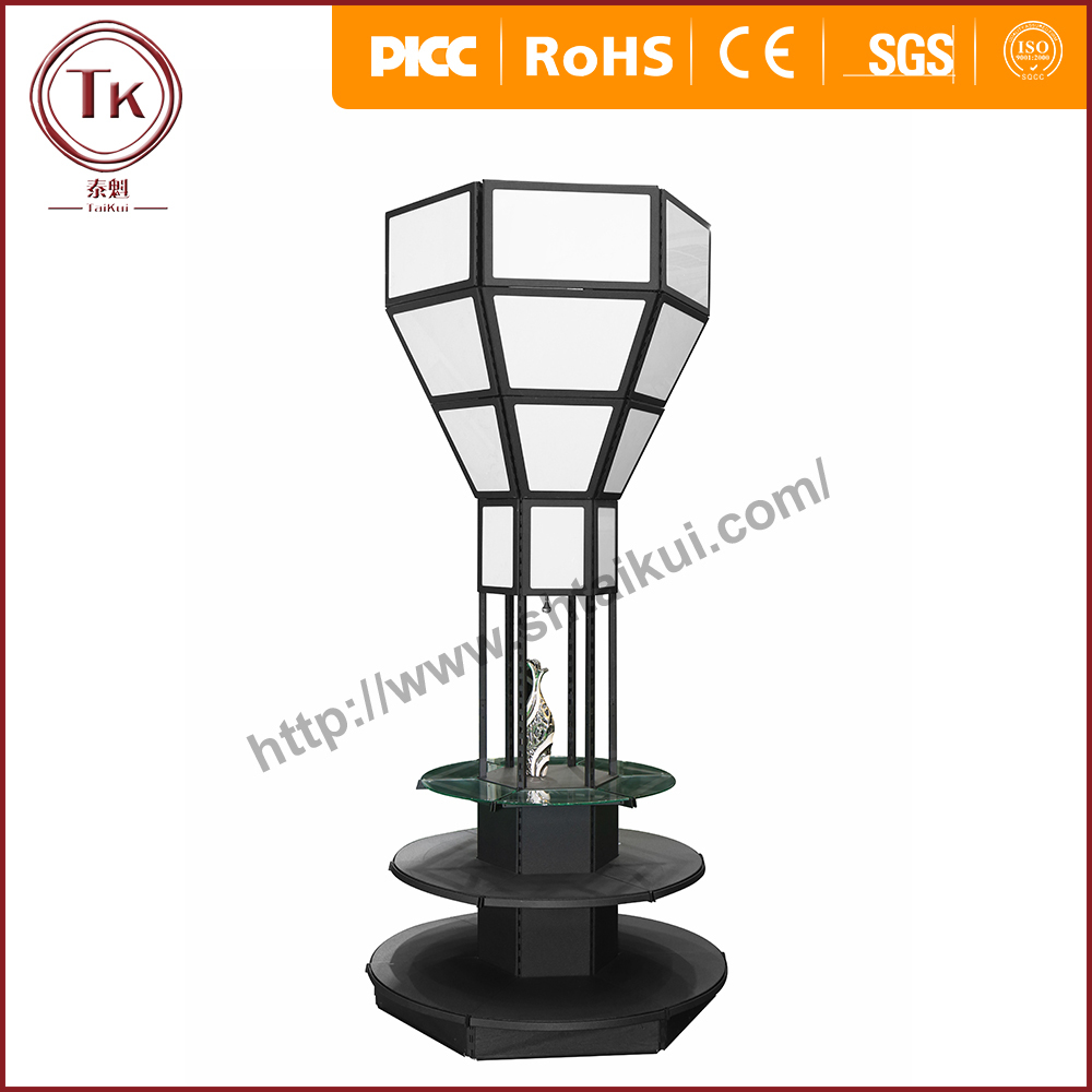 High quality fashion circular display stand manufacture price