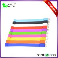 A Grade Chip More Color More Choice Free Logo Wrist USB Slap Bracelet USB Flash Drive