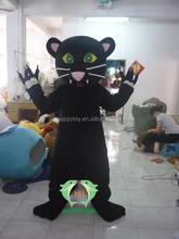 HI CE good price cool black cat mascot costume,adult party cat mascot,cosplay cartoon cat mascot