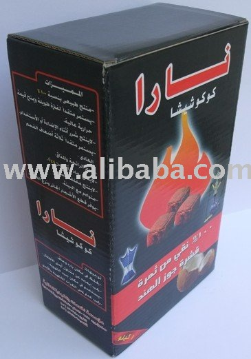 White Ash Charcoal for Shisha