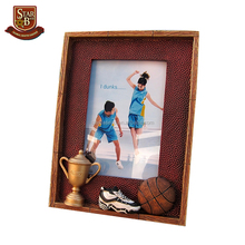 The NBA basketball personal resin photo frame for birthday gift