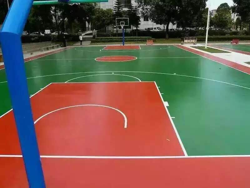 Cheap portable plastic pvc outdoor basketball court sports flooring