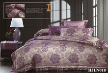 2015 Hot New Product Luxury Jacquard Bedding Set and Comforter Set China Textile