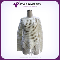 New Arrival High-End Handmade Fashion Style Nice Design Latest Design Ladies Sweater