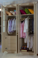 MDF cheap bedroom wardrobe/door designs for home furniture