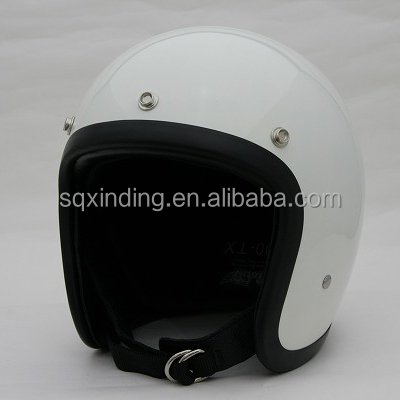 Fashion 3/4 Vintage Safety Jet open face Motorcycle Helmets