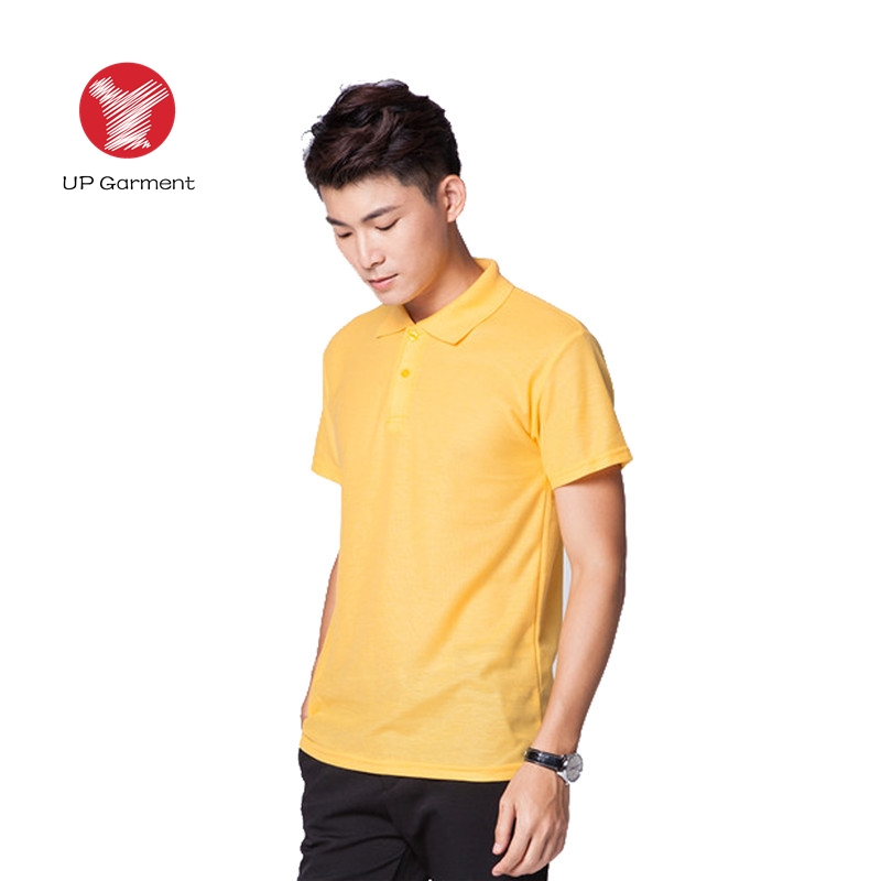 t shirt with logo customs 100 % polyester Men's Short Sleeve Uniforms Polo Shirt Create My Own T Shirt