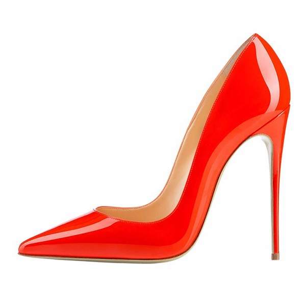 New Design Stiletto 12cm Pointed Toe Wedding Woman Pumps High Heel Safety Shoes Woman Ladies Cut Shoes 2016