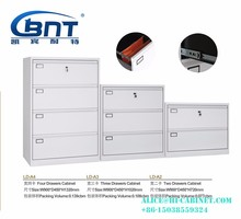 China Luoyang CBNT High Quality Metal Lateral Four Drawer Storage Metal File Cabinet A4/A3/FC Folder LD-A2